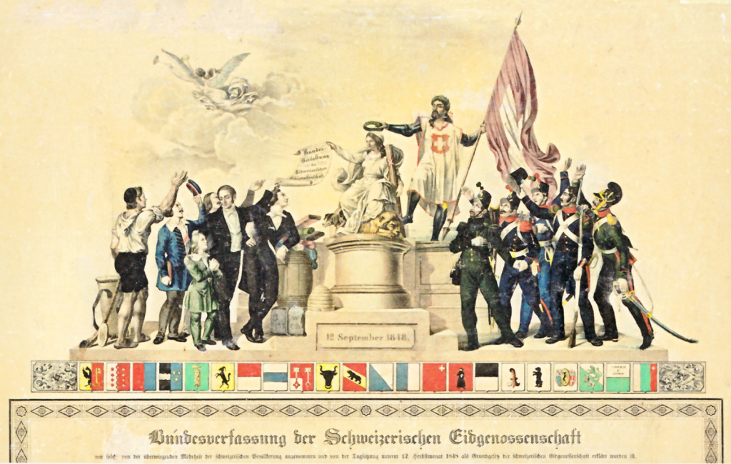 Bundesverfassung_1848_Schweiz